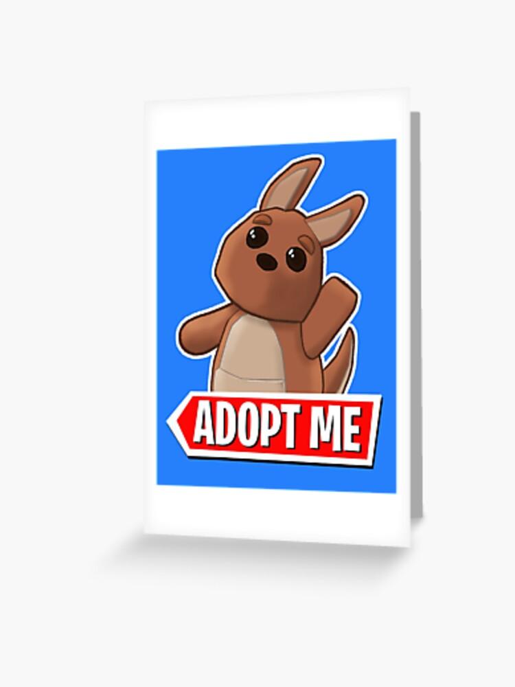 Adopt Me Kangaroo Greeting Card By Pickledjo Redbubble