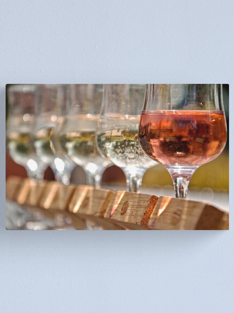 Alternate view of Wine Tasting Canvas Print