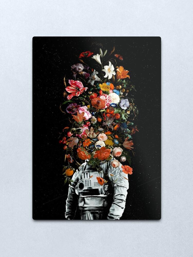Alternate view of Full Bloom Metal Print