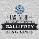The Doctor Dreams of Gallifrey by nyuszi