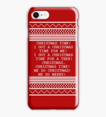 Britta Christmas sweater Quote iPhone Case/Skin