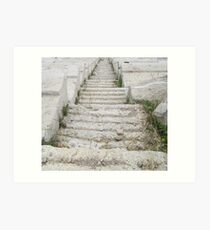 Ancient Stairs Art Print