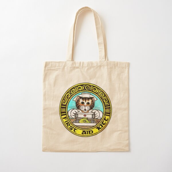 FIRST AID KITT Cotton Tote Bag