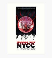 RB TAKES NYCC Art Print