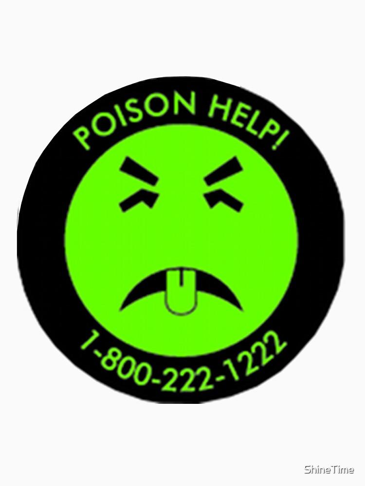 Retro Mr.Yuk poison | Unisex T-Shirt