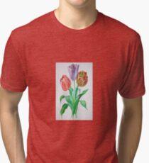 Tulip Trio Tri-blend T-Shirt