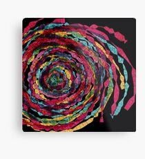 spaghettis spiral Metal Print