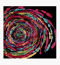 spaghettis spiral Photographic Print