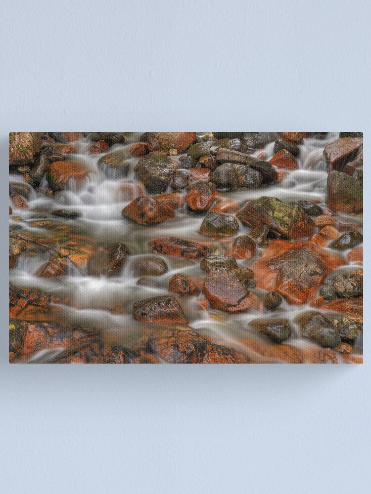 Alternate view of Fingers of Silk (2) Canvas Print