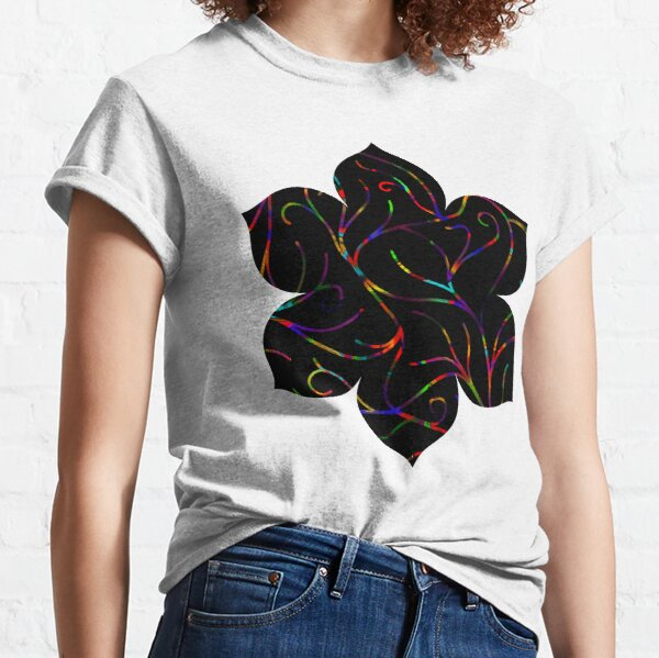Black Velvet, Rainbow Vines Classic T-Shirt
