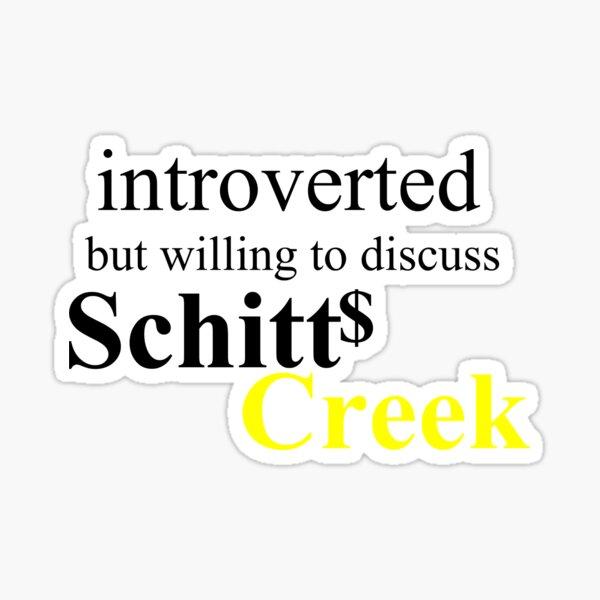 Introverted - SC blk Sticker