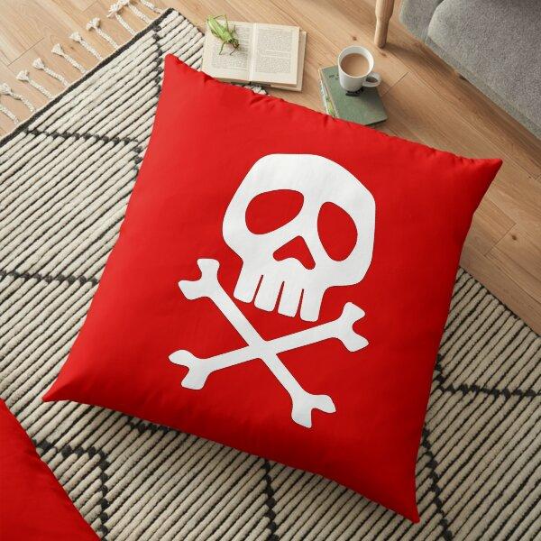 Pirate skull Floor Pillow