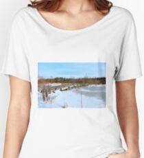 The Herrestadsjön bridge II Women's Relaxed Fit T-Shirt