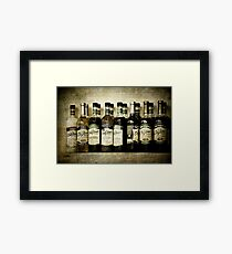 Coffeehouse Flavor Framed Print