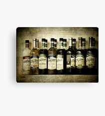 Coffeehouse Flavor Canvas Print