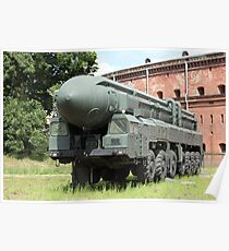 mobile missile launcher Poster
