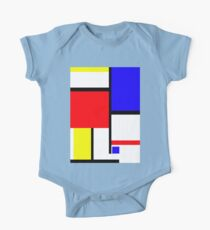 Method in the Mondrian One Piece - Short Sleeve