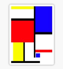 Method in the Mondrian Sticker