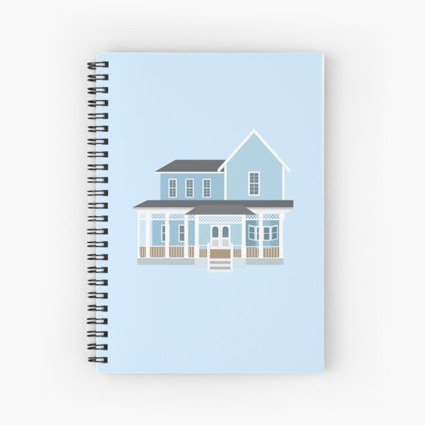 Lorelai and Rory's House Spiral Notebook