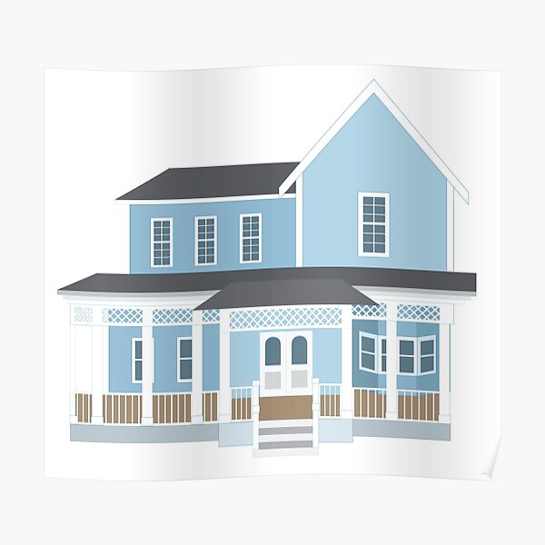 Lorelai and Rory's House Poster