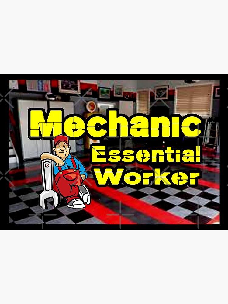 Mechanic Essential Worker design by Mbranco