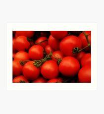 Red Tomatoes Art Print