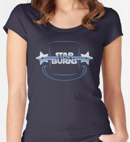 Star Burns Women's Fitted Scoop T-Shirt