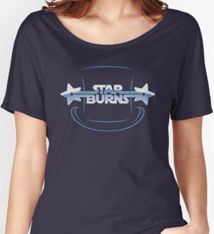 Star Burns Women's Relaxed Fit T-Shirt