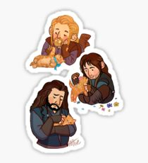 The Durins and the Kitten Sticker