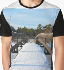 The Herrestadsjön bridge I Graphic T-Shirt