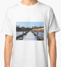 The Herrestadsjön bridge I Classic T-Shirt
