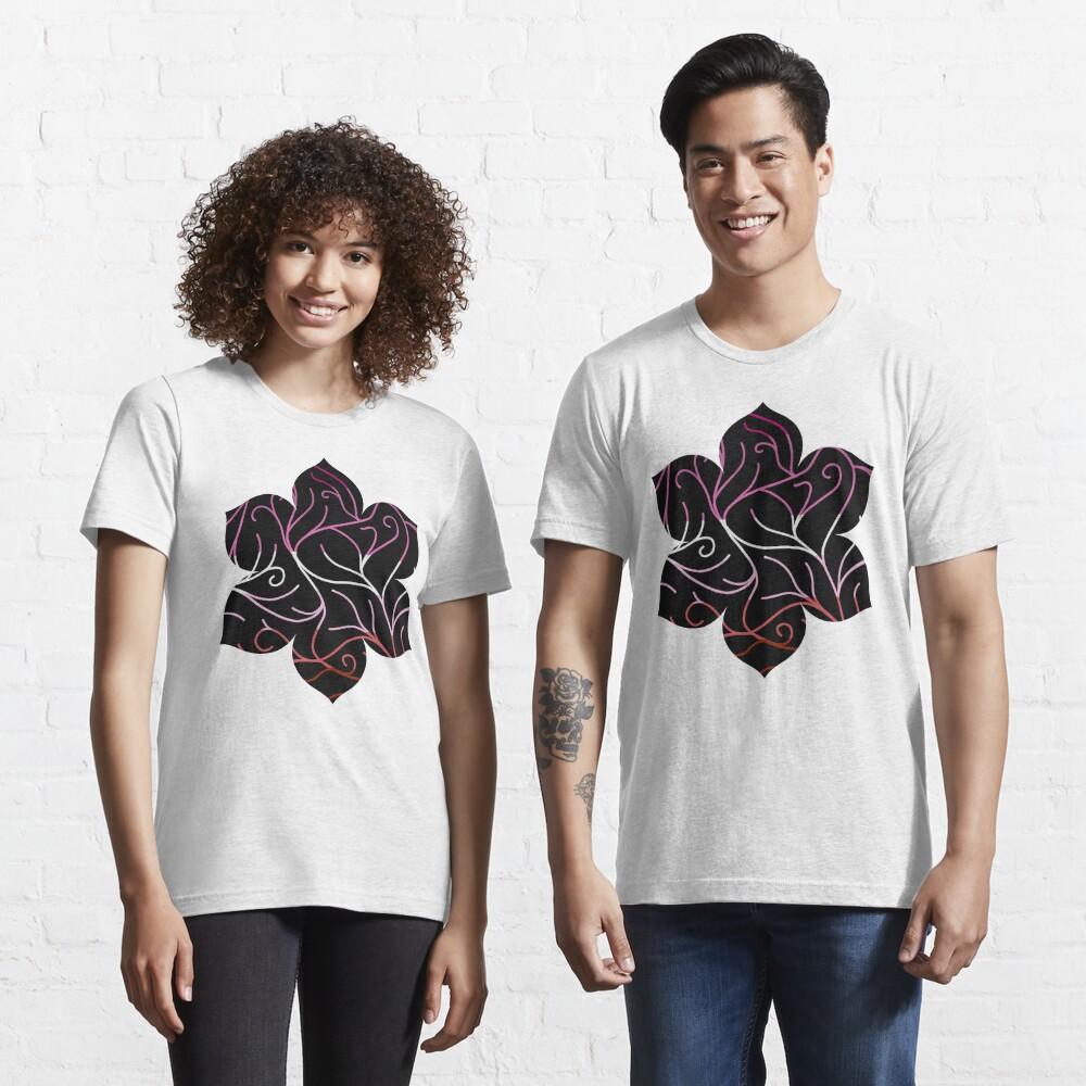 Black Velvet, Lesbian Flag Vines Essential T-Shirt