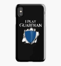 I Play Guardian iPhone Case/Skin
