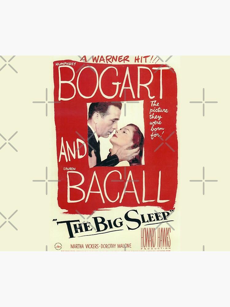 The Big Sleep - vintage movie poster (Bogart, Bacall) by Amberflash