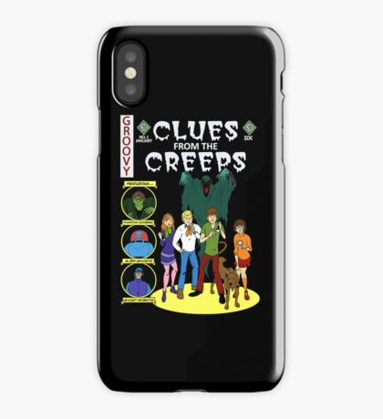 Clues From the Creeps iPhone Case