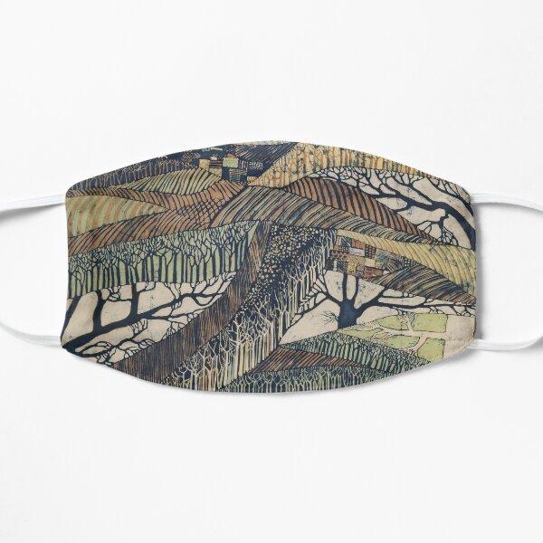 Marching Trees 1970's Batik Mask