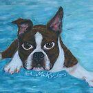Boston Terrier by Ella Meky