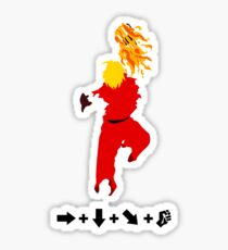 Vector Shoryuken 2  Sticker