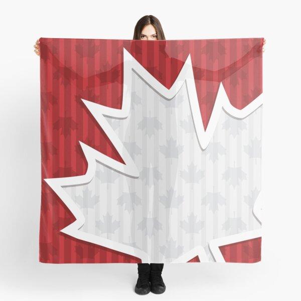 Patriotic Canada Maple Leaf Scarf