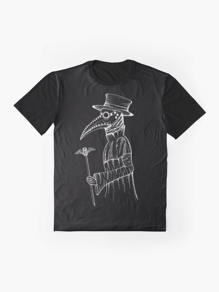 Alternate view of Plague Doctor  Graphic T-Shirt