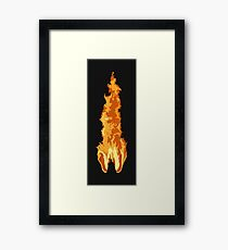 The Fire Rises Framed Print