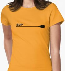 SUP paddle Women's Fitted T-Shirt