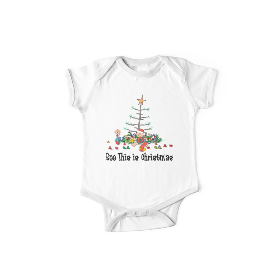 First Christmas Baby's 1st Chirstmas T-Shirt by HolidayT-Shirts