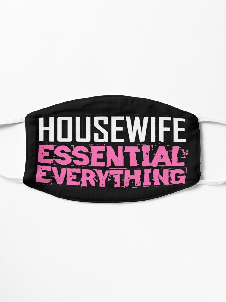 Alternate view of Housewife Essential Everything design Mask