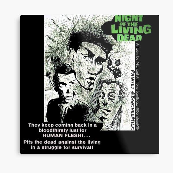Night of the Living Dead Metal Print