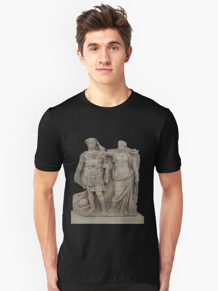 Nero and His Mother, Agrippina Unisex T-Shirt Front