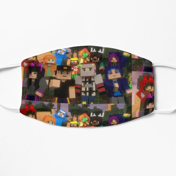 MINECRAFTED Flat Mask