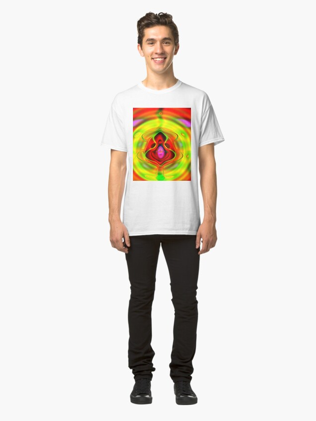 Alternate view of Psychedelic Goldfish Classic T-Shirt