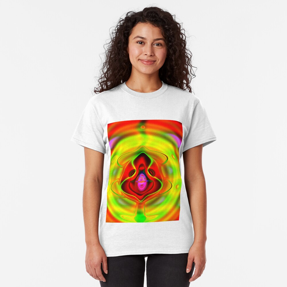 Psychedelic Goldfish Classic T-Shirt