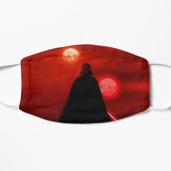 Vader Tatooine Binary Sunset Masque sans plis